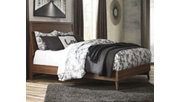 Daneston Queen Panel Bed, Brown/Graphite, large