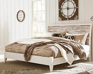Evanni Panel Bed, , rollover