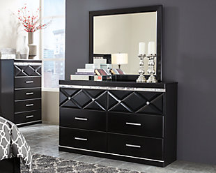 Fancee Dresser and Mirror, , large