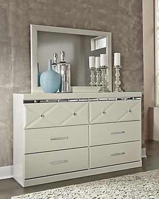 Dreamur Dresser and Mirror, , rollover