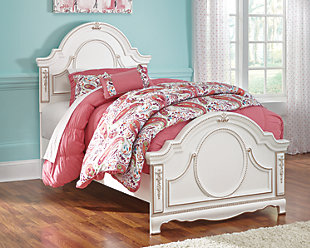 room furniture for girls. Bedroom Furniture On A White Background Room For Girls N