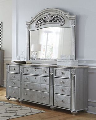Zolena Dresser and Mirror, , rollover