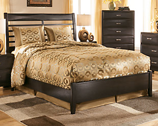 Kira Queen Panel Bed, , large