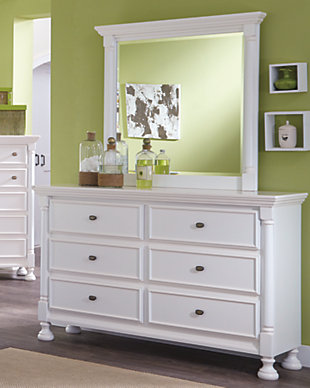Kaslyn Dresser And Mirror Ashley Furniture Homestore