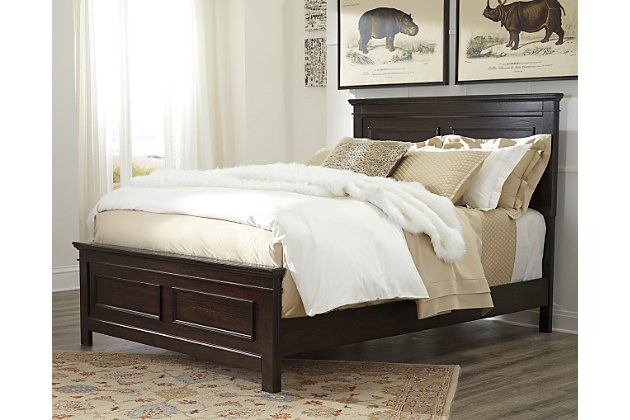 Alexee King Panel Bed Ashley Furniture Homestore