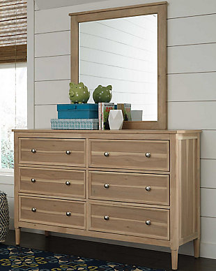 Klasholm Dresser and Mirror, , rollover