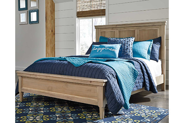 Klasholm Full Panel Bed Ashley Furniture Homestore