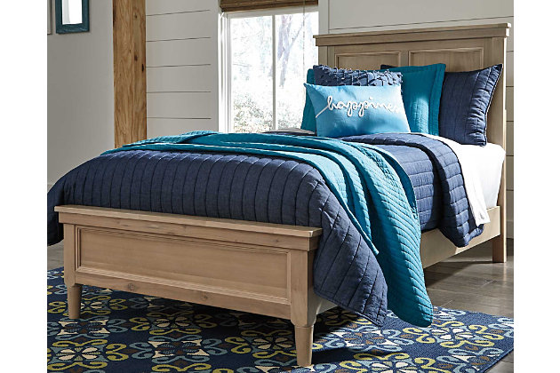 Klasholm Twin Bed with 2 Nightstands, , large