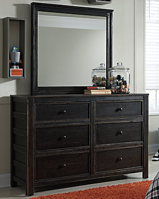 Jaysom Dresser and Mirror, , rollover