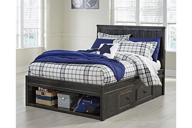 Jaysom Full Panel Bed With Storage Ashley Furniture