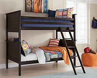 Jaysom Twin over Twin Bunk Bed, , rollover