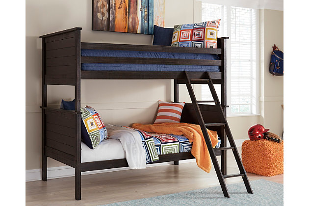 Jaysom Twin over Twin Bunk Bed, , large