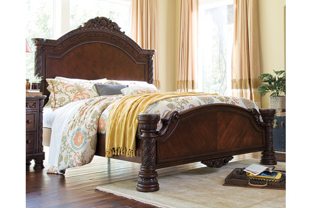 North Shore Queen Panel Bed Ashley Furniture HomeStore - Ashley furniture northshore bedroom set