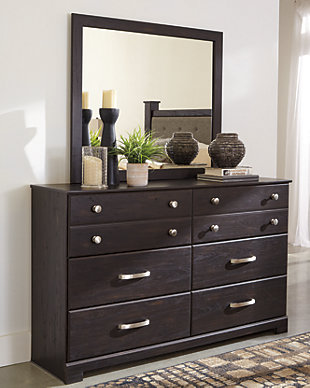 Reylow Dresser and Mirror, , rollover