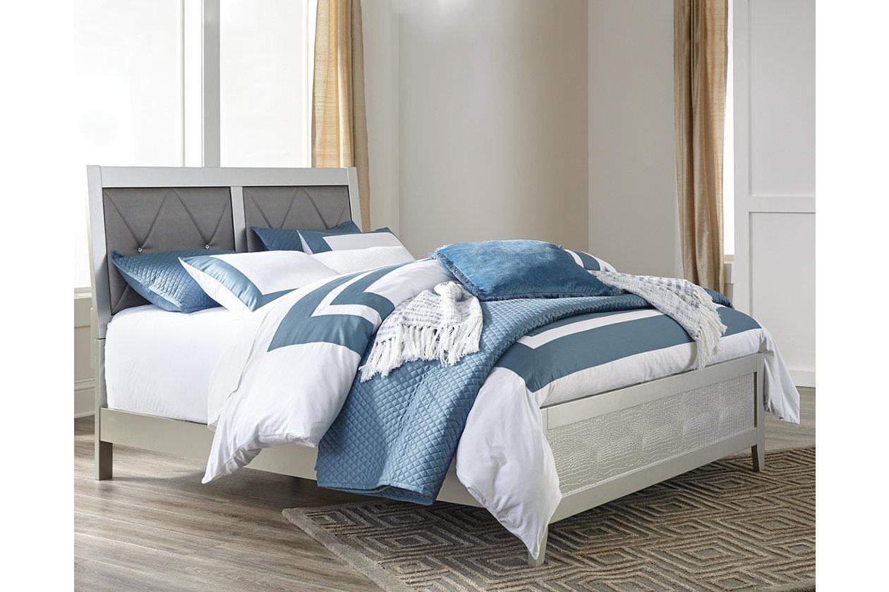 Olivet Queen Panel Bed Ashley Furniture Homestore