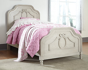 abrielle twin panel bed