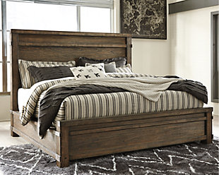 Leystone Queen Panel Bed, , rollover