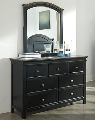 Froshburg Dresser and Mirror, , rollover