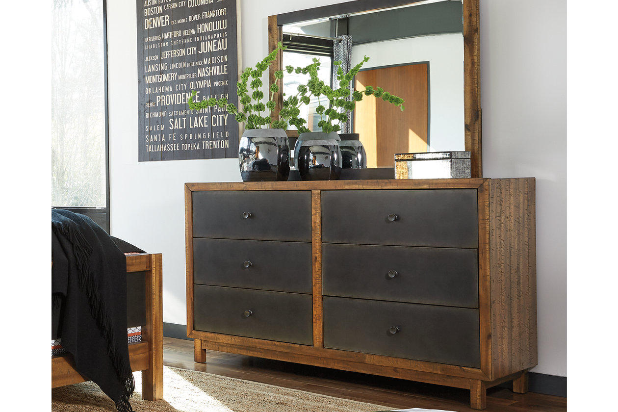 harlynx dresser mirror ashley furniture homestore