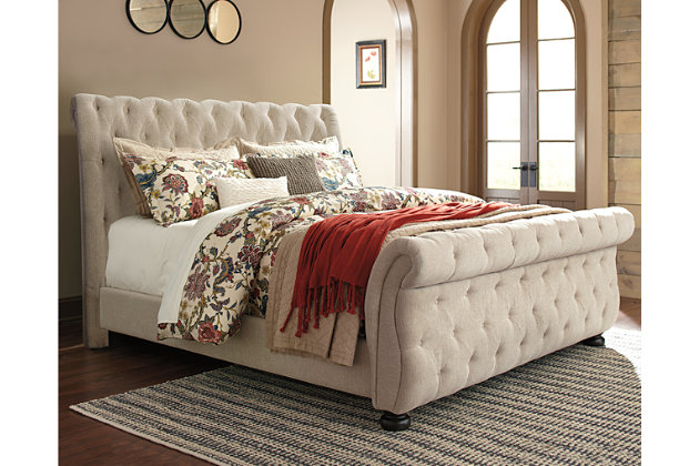 Willenburg King Upholstered Bed Ashley Furniture Homestore