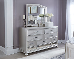 Coralayne Dresser and Mirror, , rollover