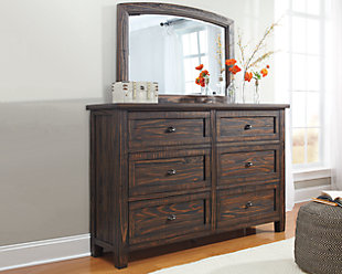 Trudell Dresser and Mirror, , large