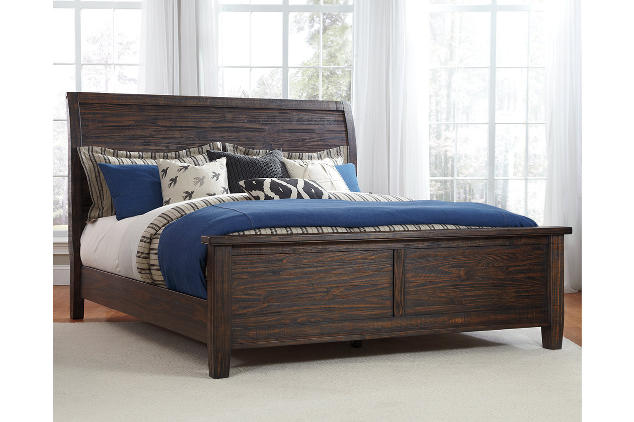 Trudell King Panel Bed Ashley Furniture Homestore