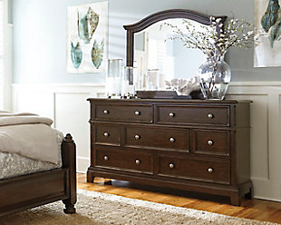 Lavidor Dresser and Mirror, , rollover