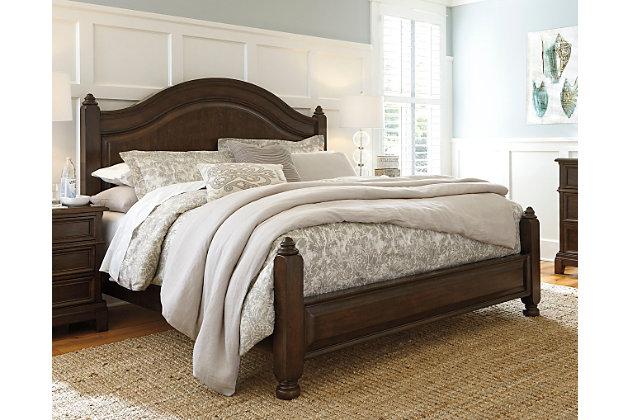King Bedroom Sets Ashley Furniture lavidor queen poster bed | ashley furniture homestore