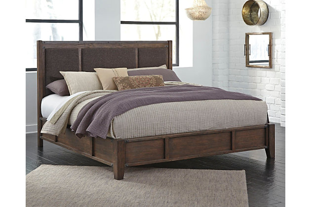 zenfield queen panel bed