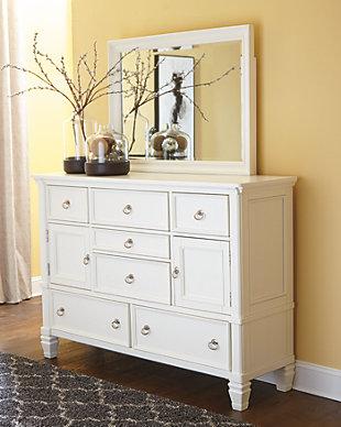 Prentice Dresser and Mirror, , rollover
