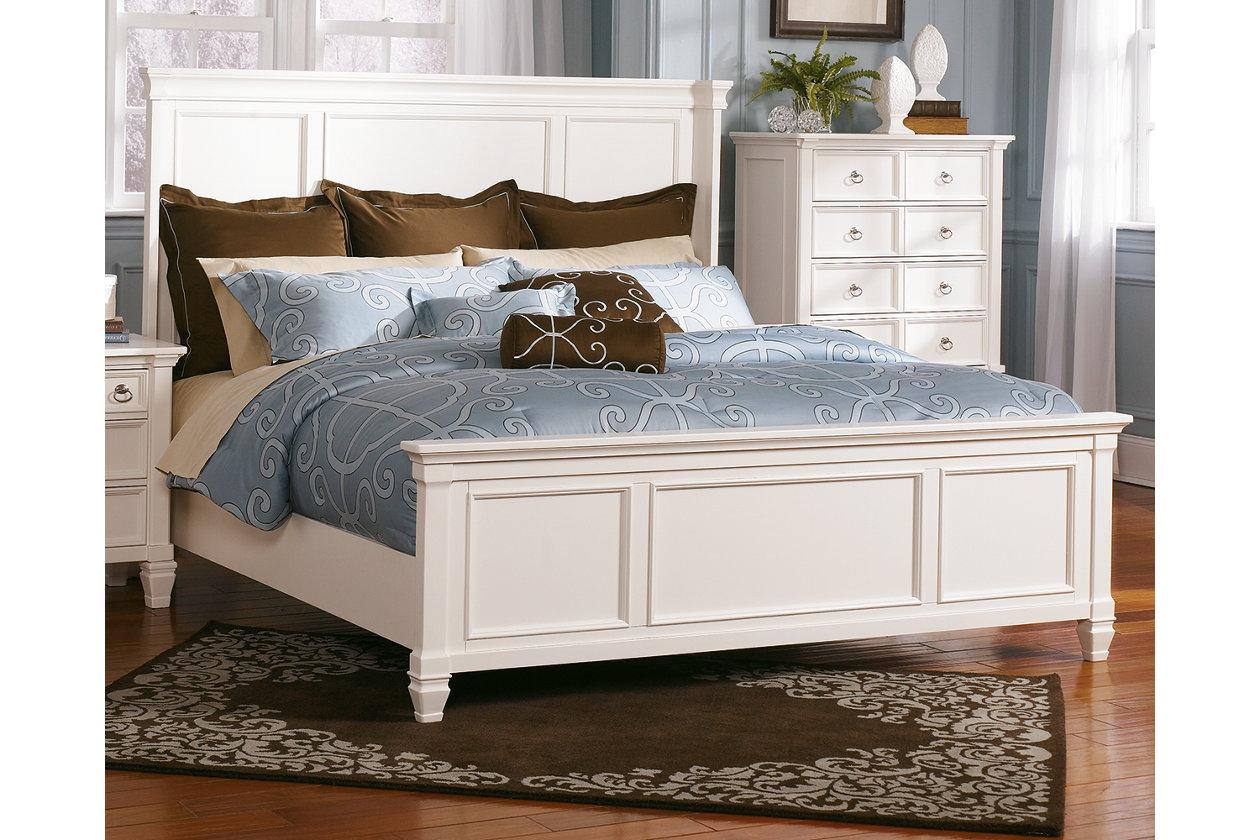 Prentice Queen Panel Bed  Ashley Furniture HomeStore