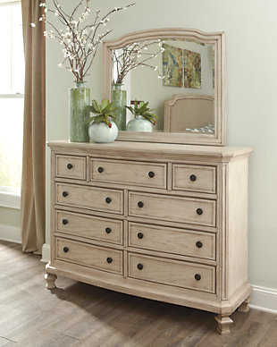Demarlos Dresser and Mirror, , rollover