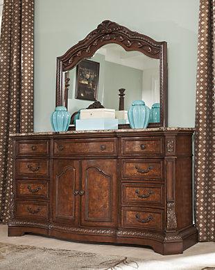 Ledelle Dresser and Mirror, , rollover