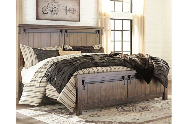 Lakeleigh King Panel Bed Ashley Furniture Homestore