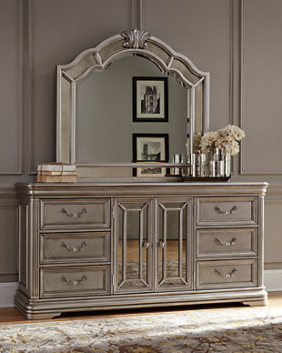 Birlanny Dresser and Mirror, , rollover