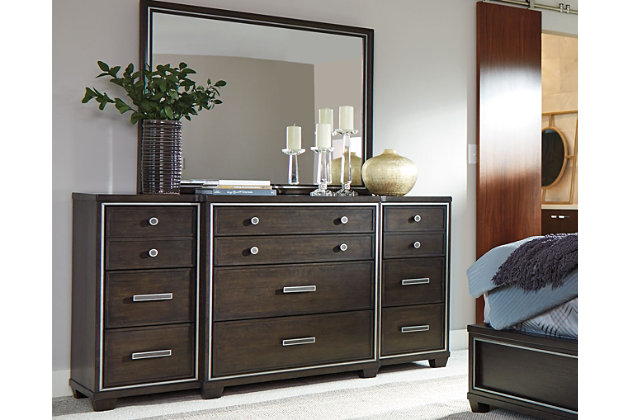Zimbroni Dresser Mirror | Ashley Furniture HomeStore