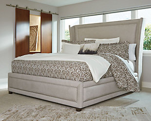 Zimbroni Queen Upholstered Bed, , large