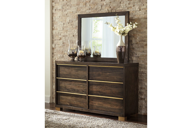 Chaliene Dresser and Mirror, , large