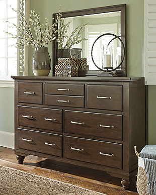 Brossling Dresser and Mirror, , rollover
