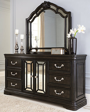 Quinshire Dresser and Mirror, , large