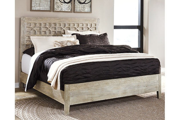 Halamay Queen Panel Bed Ashley Furniture Homestore