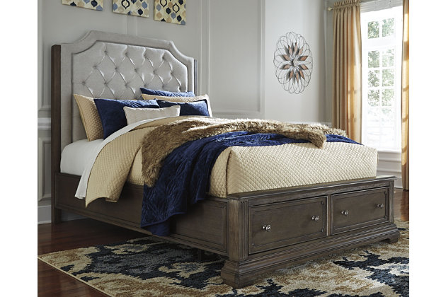 Mikalene Queen Panel Bed with Storage