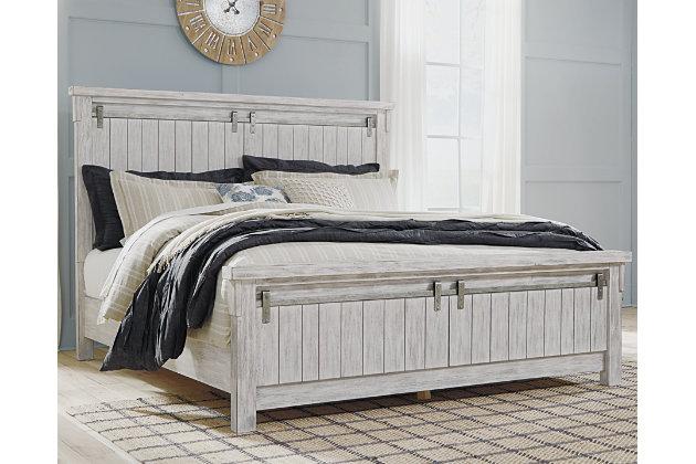 Brashland King Panel Bed Ashley Furniture Homestore