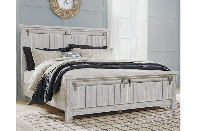 Brashland Queen Panel Bed Ashley Furniture Homestore