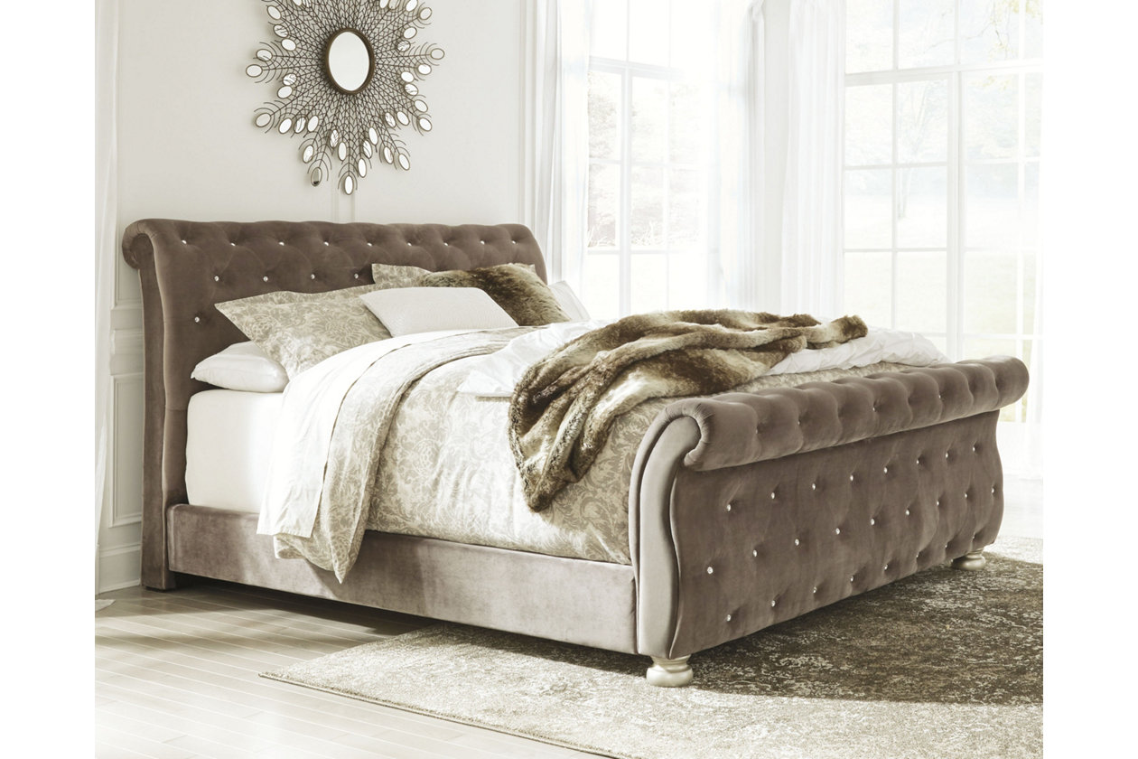 Cassimore Queen Upholstered Bed Ashley Furniture Homestore