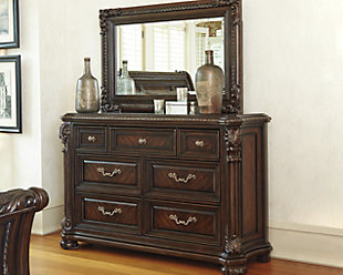 Valraven Dresser and Mirror, , rollover