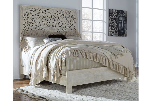 Bantori Queen Panel Bed Ashley Furniture Homestore