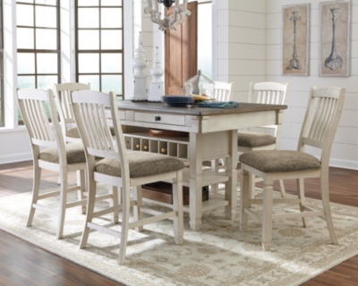 Ashley Bolanburg 5-Piece Counter Dining Room, Two-tone