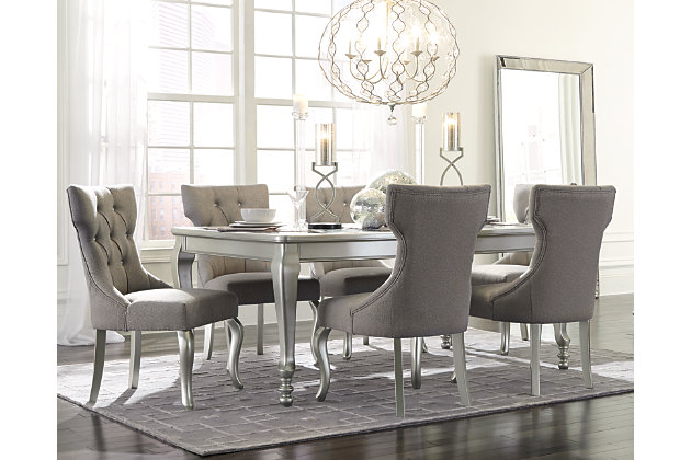 Coralayne 5-Piece Dining Room  large ...  sc 1 st  Ashley Furniture HomeStore : dining table set ashley furniture - pezcame.com
